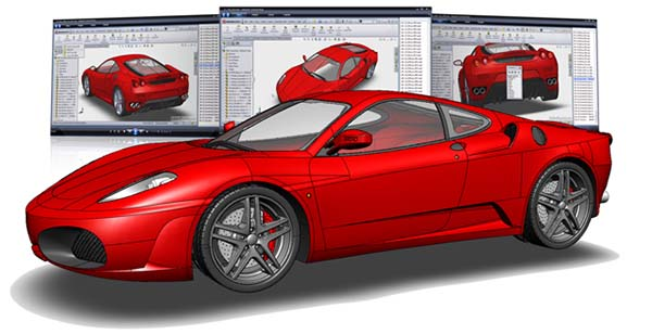thiết kế 3D solidworks