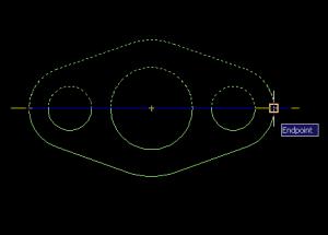 Tạo đối xứng trong CAD